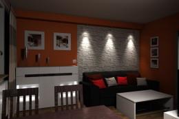Projekt małego salonu - Świętochłowice