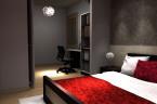 Sypialnia z miejscem do pracy- Świętochłowice