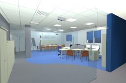 Wnętrze biurowe