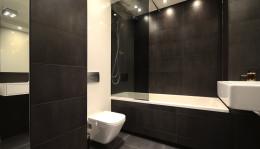 Aranżacja wnętrz Koszalin / łazienka dla singla