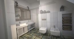 Łazienka w stylu schabby chic