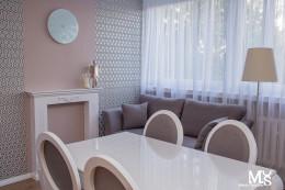 Mieszkanie ul. Śliczna - salon