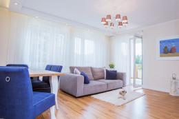 Mieszkanie w centrum Wrocławia- salon