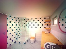Projekt linii łazienki