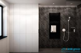 Projekt łazienki w domu jednorodzinnym