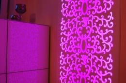 Oświetlenie  salonu + komoda