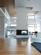 Wnętrze  drewno +biel