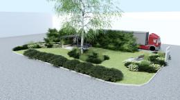 Ogród firmowy