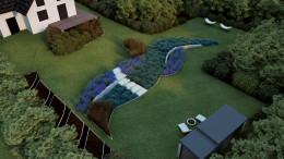 Ogród na zboczu