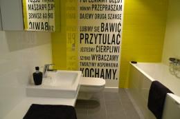 graficzna łazienka