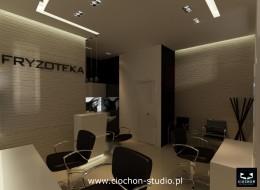 Salon Fryzjerski - projekt koncepcyjny I