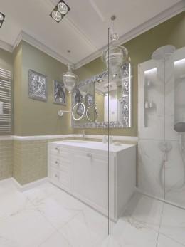 paryska garsoniera - łazienka
