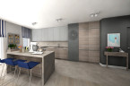 CAFE LATTE / mieszkanie 100 m2