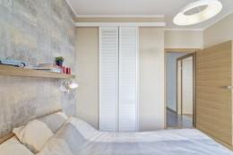 Sypialnia i łazienka na warszawskiej Pradze