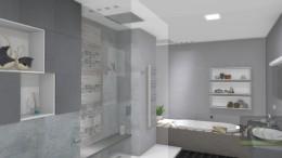 Projekt łazienki w domu