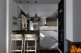 Aranżacja kuchni - Dobczyce