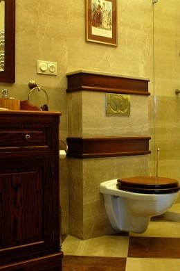 Łazienka w podwarszawskiej rezydencji