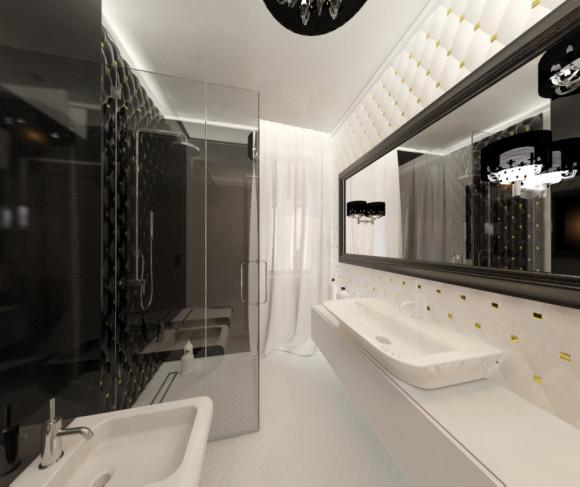 łazienka W Stylu Glamour Aleksandra Jankowska E Aranżacjepl