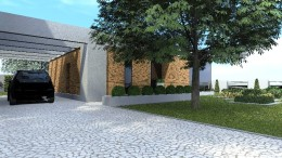 nowoczesny ogród Olsztyn