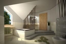 Łazienka z domowym SPA