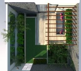 Ogród między murami