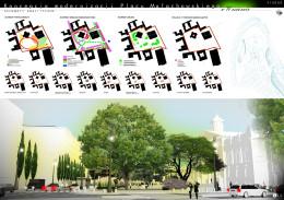 Plac Małachowskiego - praca konkursowa