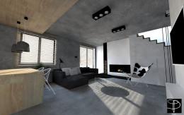 Betonowy apartament