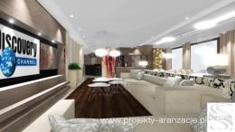 Projekt salonu i jadalni
