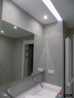 Beton architektoniczny - płyty betonowe w łazience