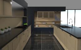 kuchnia z wyspą