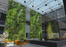 Koncepcja budynku biurowego Balice
