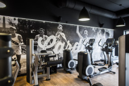 SALA CARDIO W LEVEL UP FITNESS WROCŁAW