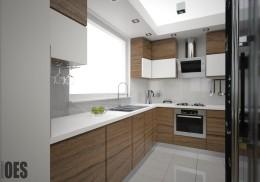 Projekt wnętrz mieszkania w Sosnowcu