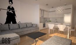 Projekt mieszkania w Katowicach