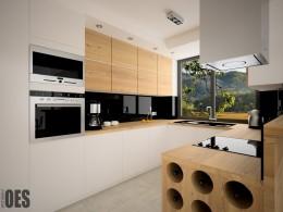 Projekt wnętrz domu w Ustroniu
