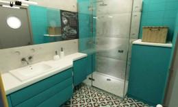 łazienko retro