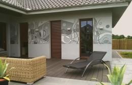 Mural na elewacji