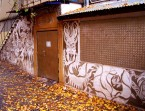 Sgraffito - Dekoracja Ścian - Klub Grawitacja - Wrocław