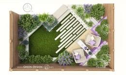 Ogród przy szeregówce