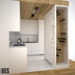 projekt małej kuchni w Warszawie