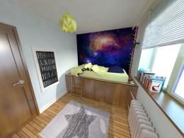 Pokój małego kosmonauty