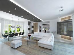 Projekt domu w Warszawie