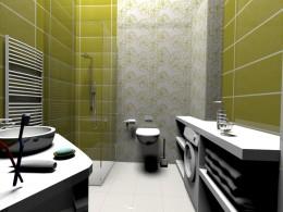 łazienka - zielono mi