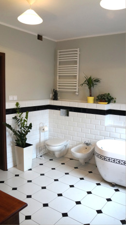 Łazienka dom na wsi