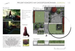 Koncepcja zagospodarowania małego ogrodu #1