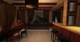 pub w stylu retro