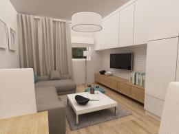 Małe białe mieszkanie