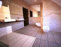 łazienka w kamieniu