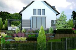 Projekt ogrodu w domu jednorodzinnym