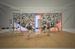 Stoisko wystawowe marki Mitchell&Ness